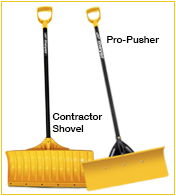 Meyer Contractor Shovel & Pro-series Pushers