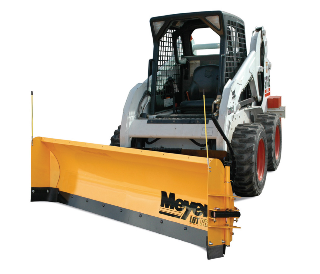 Meyer Skid Steer Plows